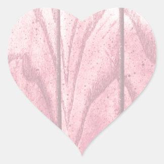 Textura Pastel da madeira do Grunge Adesivo Coração
