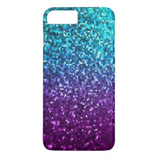 textura positiva da faísca do mosaico do caso do capa iPhone 7 plus
