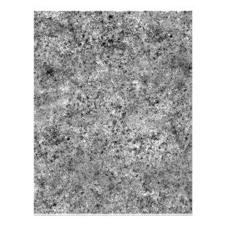 Textura queimada da telha da areia panfleto personalizado