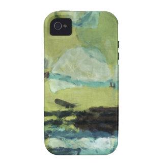 Textura selvagem TPD Capas Para iPhone 4/4S