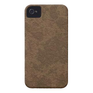 Textura TPD de Brown 2 Capa Para iPhone 4 Case-Mate