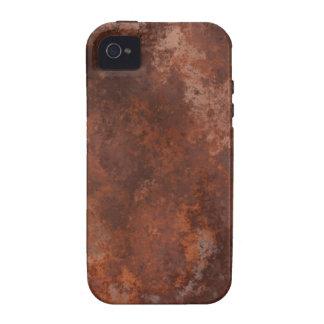 Textura TPD de Brown Capas Para iPhone 4/4S