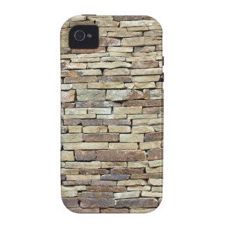 Textura velha da parede de pedra capas para iPhone 4/4S