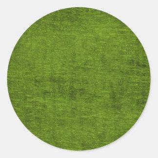 Textura verde do tecido de Chenille do Natal Adesivo