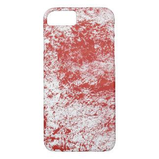 Textura vermelha capa iPhone 8/ 7