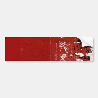 Textura vermelha do Grunge com grafites Adesivos