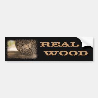 Texturas velhas da madeira da cabine adesivo para carro