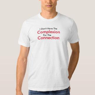 Tez para a camisa da conexão tshirt