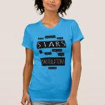 TFiOS: Meus pensamentos são estrelas Camiseta