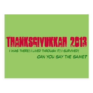 Thanksgivukkah 2013 - Cartão