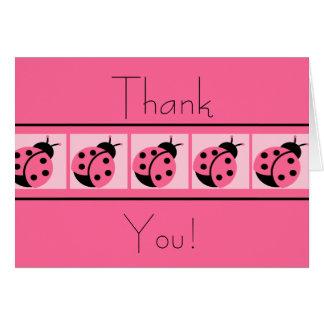 Thankyou cartões unidos joaninha
