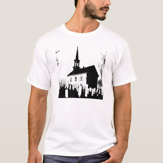 The Church By The Cemetery Camiseta