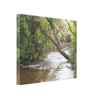 The Creek esticou o impressão das canvas Impressão De Canvas Esticadas