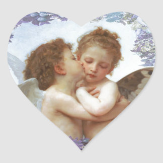 THE FIRST KISS, C.1873 William Bourgeau Sticker