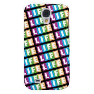 The Game do logotipo retro da vida Capas Personalizadas Samsung Galaxy S4