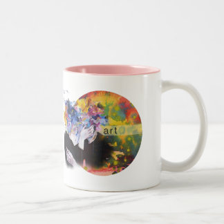 The only thing that matters to me is you. caneca de café em dois tons