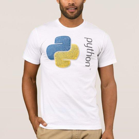 The Zen of Python Camiseta