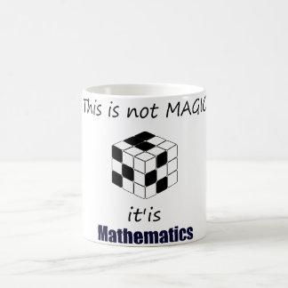 this is not magic is mathematics caneca