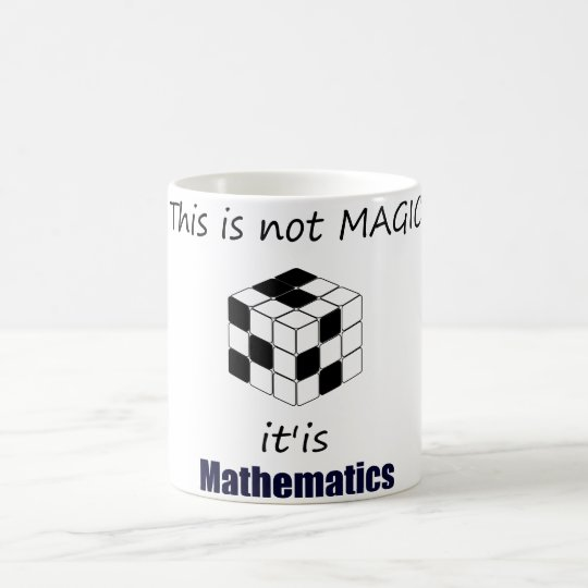 this is not magic is mathematics caneca
