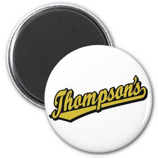 Thompson no ouro ima