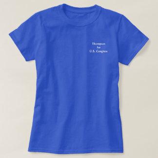 Thompson para o t-shirt do congresso (mulheres)