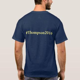 Thompson para o t-shirt do congresso (unisex) camiseta