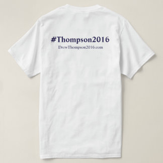 Thompson unisex para o Tshirt do congresso