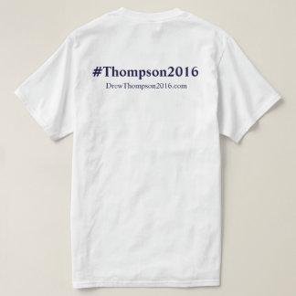 Thompson unisex para o Tshirt do congresso Camiseta