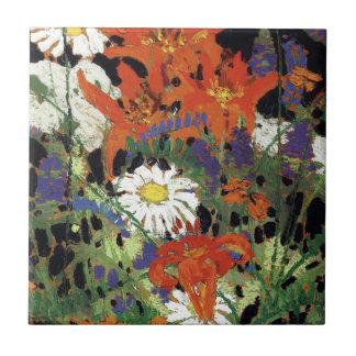 Thomson - Marguerites, lírios de madeira e