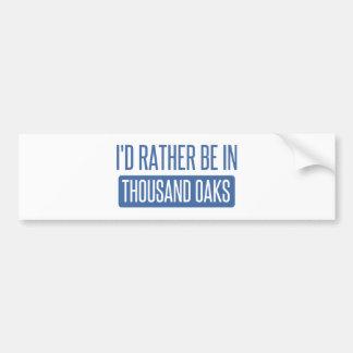 Thousand Oaks Adesivo Para Carro