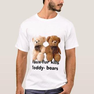 thumbnailCAB92SJKtb, Falso-pele mata ursos do Camiseta
