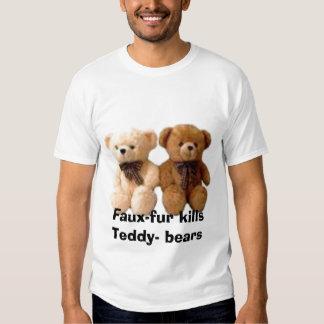 thumbnailCAB92SJKtb, Falso-pele mata ursos do T-shirt