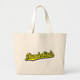 Thunderbirds no amarelo bolsa de lona