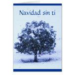 Ti do pecado de Navidad - ame-o senhorita Você Cartão Comemorativo