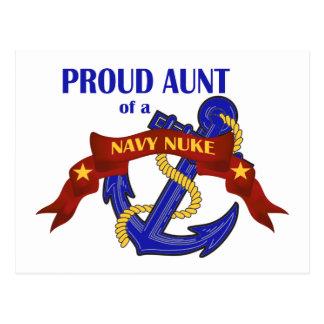 Tia de umas armas nucleares do marinho cartão postal