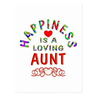 Tia Felicidade Cartões Postais