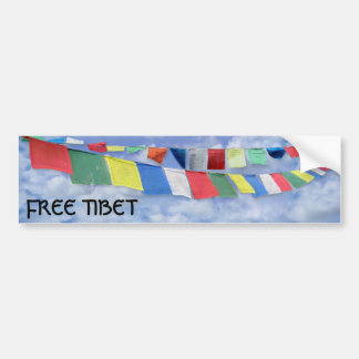 Tibet livre adesivo para carro