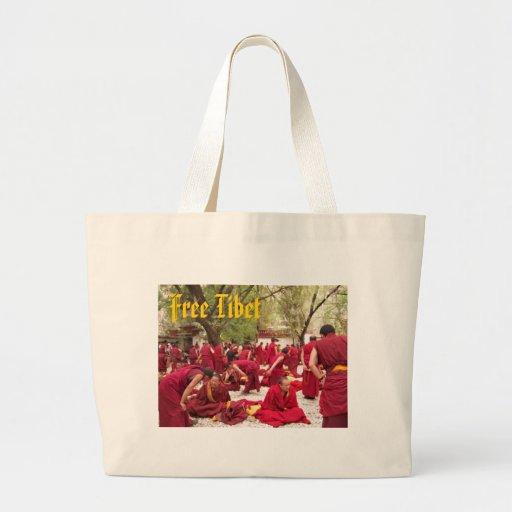 Tibet livre bolsa para compras