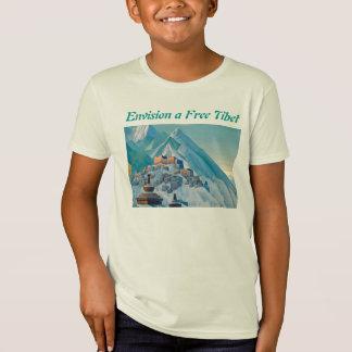 Tibet livre caçoa a camisa