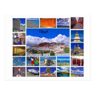 Tibet Multiview Cartão Postal