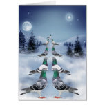 Tiempo de Navidad Cartão Comemorativo