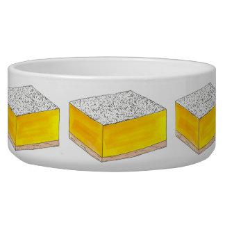Tigela Amarelo da venda do assar da sobremesa da