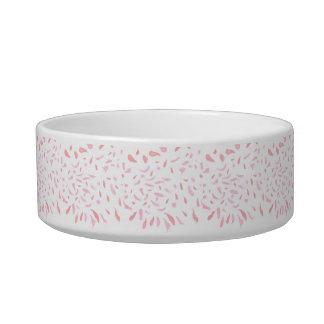 Tigela Bacia cor-de-rosa de flutuação do animal de