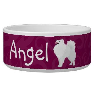 Tigela Bacia customizável americana 2 do cão do cão