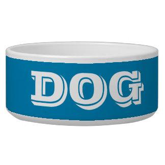 Tigela Bacia do cão pelo grande azul de aço de Janz