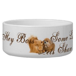Tigela bacia projetada especial para cães