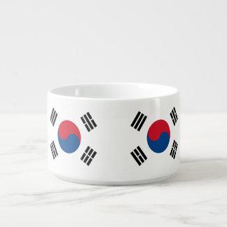 Tigela Bandeira de Coreia do Sul