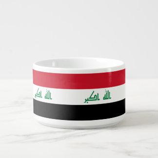 Tigela Bandeira de Iraque