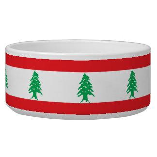 Tigela Bandeira de Líbano