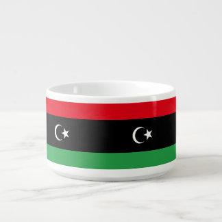 Tigela Bandeira de Líbia